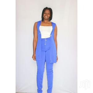 Women Ladies 3 Pieces Jumpsuit Available In 3 Colors. Blue,Red,Black | Clothing for sale in Nairobi, Nairobi Central