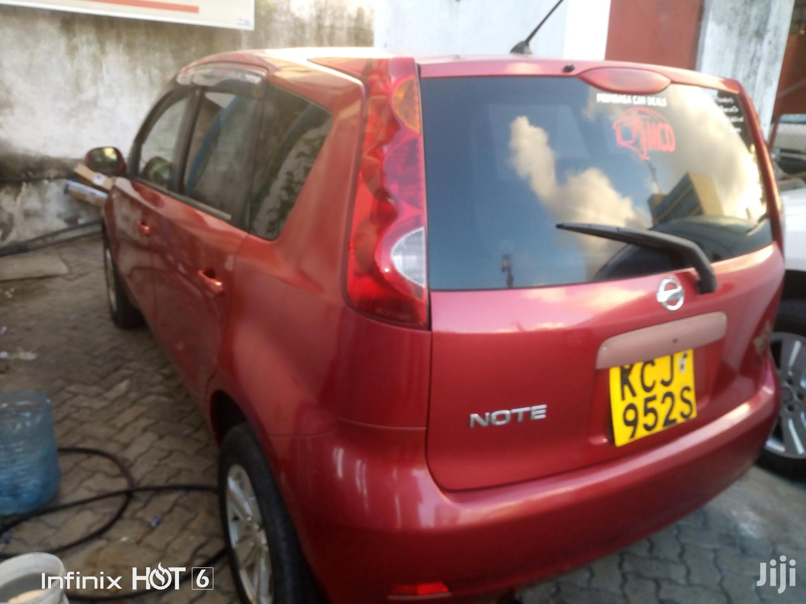 Nissan Note 2010 1.4 Red | Cars for sale in Tudor, Mombasa, Kenya