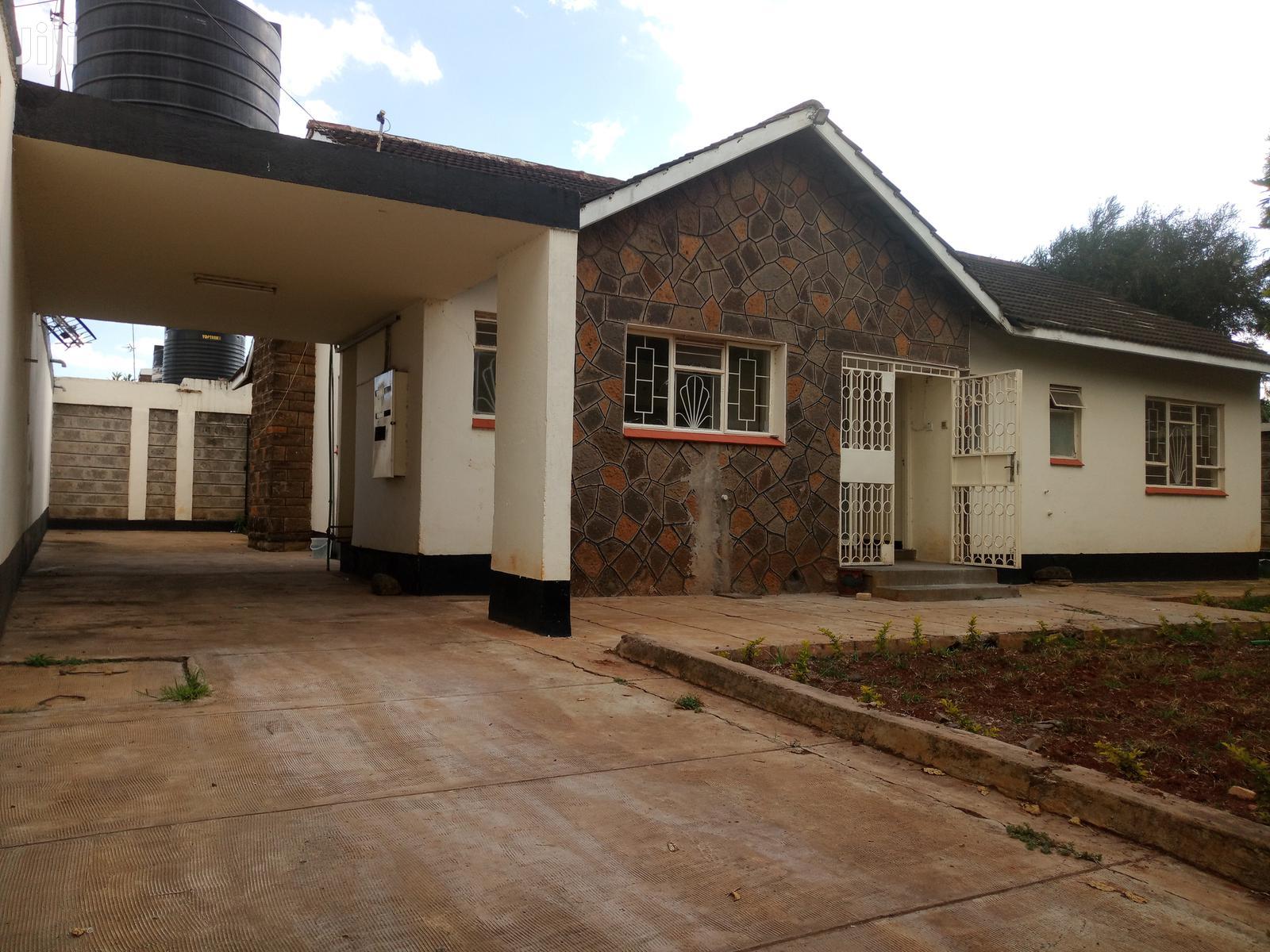 Huge 3 Bedroom Bungalow to Let Langata