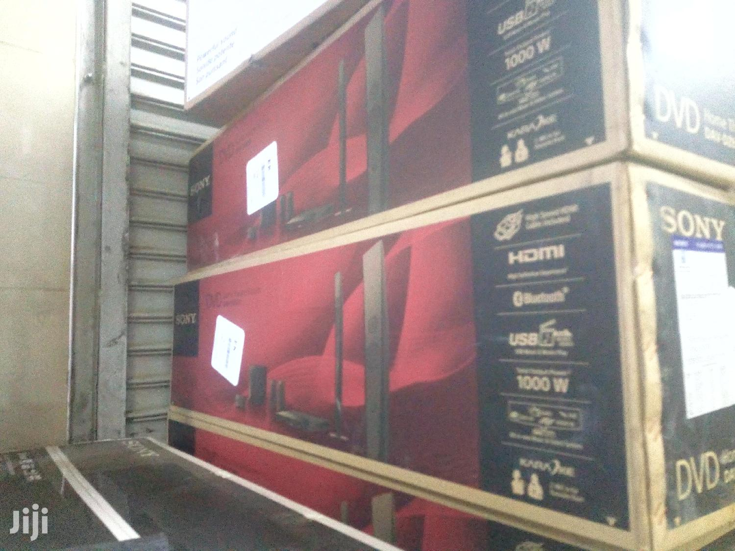 Archive: Sony Dz650 Home Theatre, 1000W 2 Tall Speakers