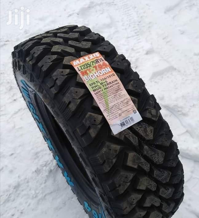 235/75/15 Maxxis MT Tyre's Is Made In Thailand