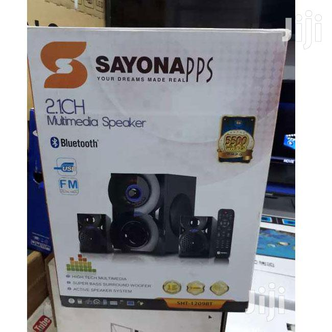 Sayona SHT-1209 Channel 2.1 5500W Subwoofer