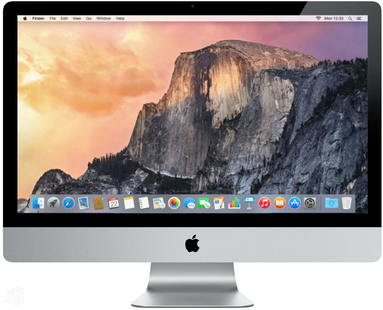 Desktop Computer Apple iMac 4GB Intel Core i5 HDD 500GB