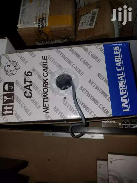 Utp Cat6 Internet Cable Pure Copper.