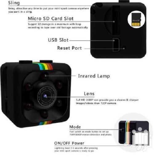 Spying Camera-sq11 Mini Dv Camera 1080P