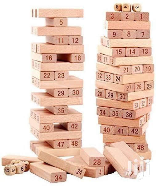 Jenga Wooden Tower Block Game