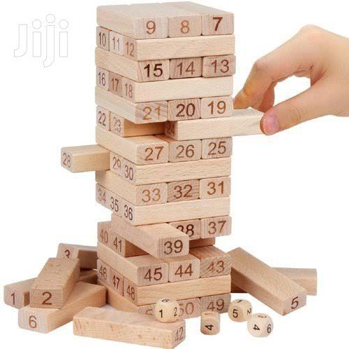 Jenga Wooden Tower Block Game | Books & Games for sale in Nairobi Central, Nairobi, Kenya