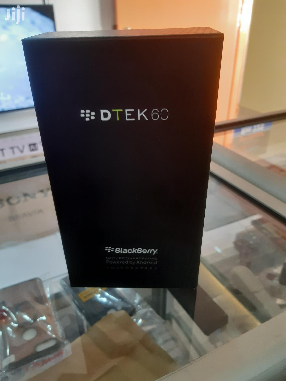 New BlackBerry DTEK60 32 GB Black