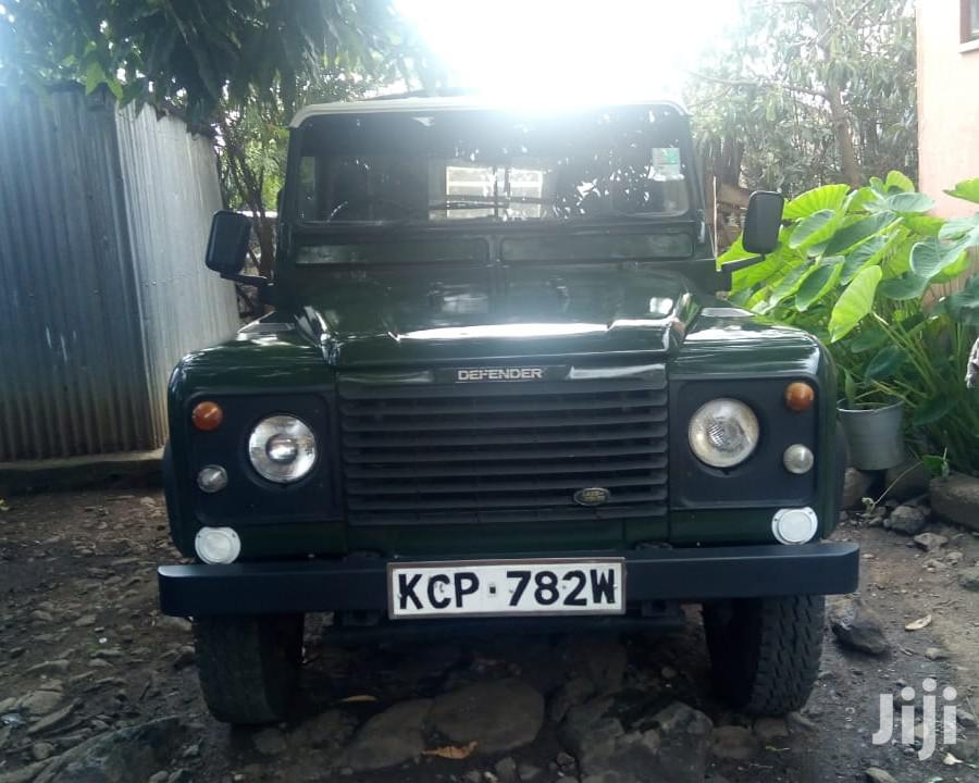 Archive: Land Rover 110 1996 Green
