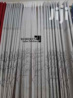 Fall Printed Curtain Grey   Home Accessories for sale in Nairobi, Nairobi Central