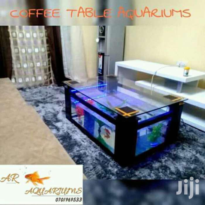 Coffee Table Aquarium Complete