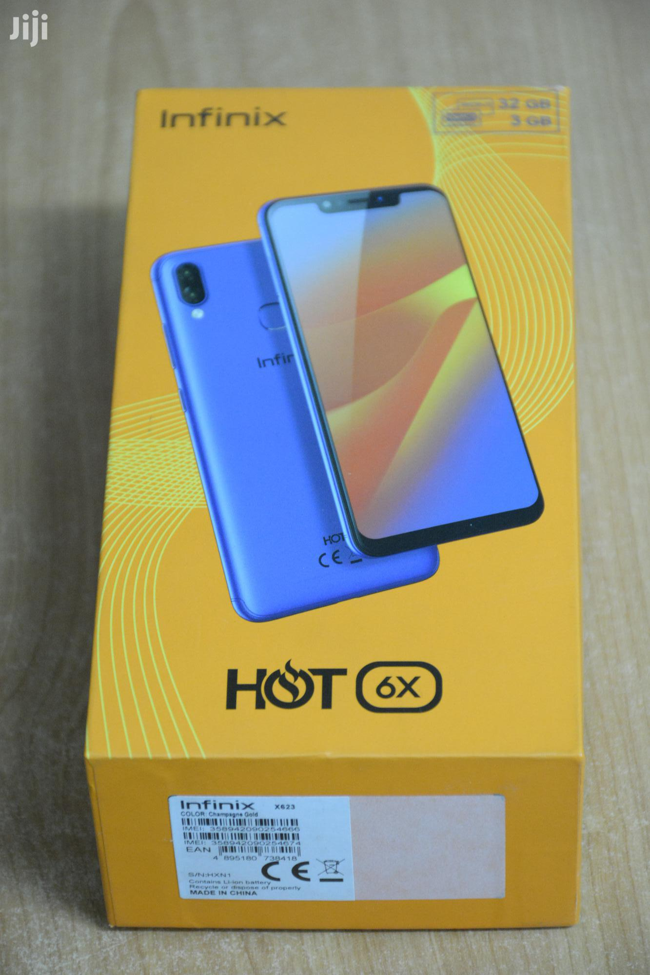 Infinix Hot 6X 32 GB Gold