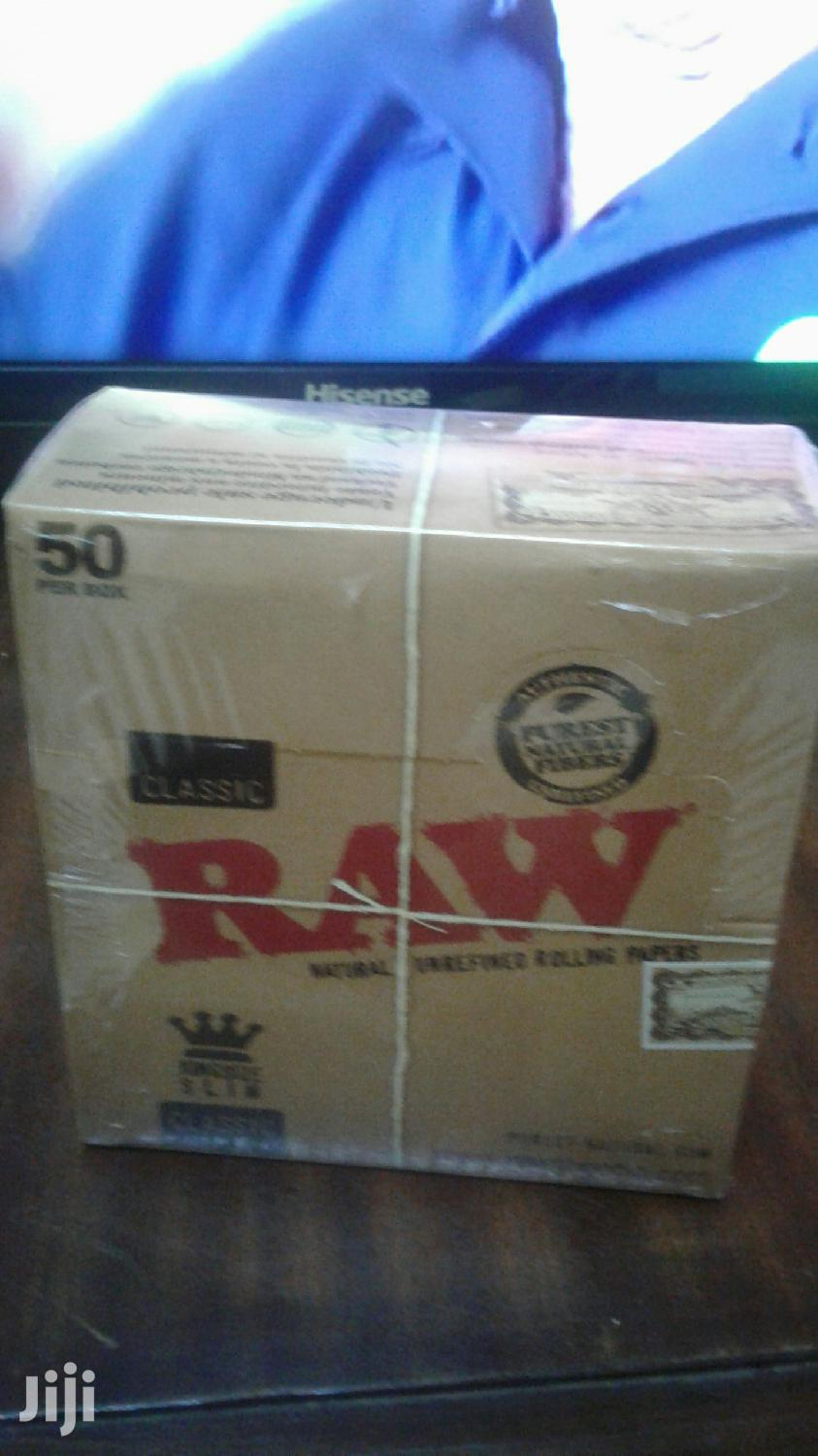 Raw King Size Rolling Papers | Home Accessories for sale in Nairobi Central, Nairobi, Kenya