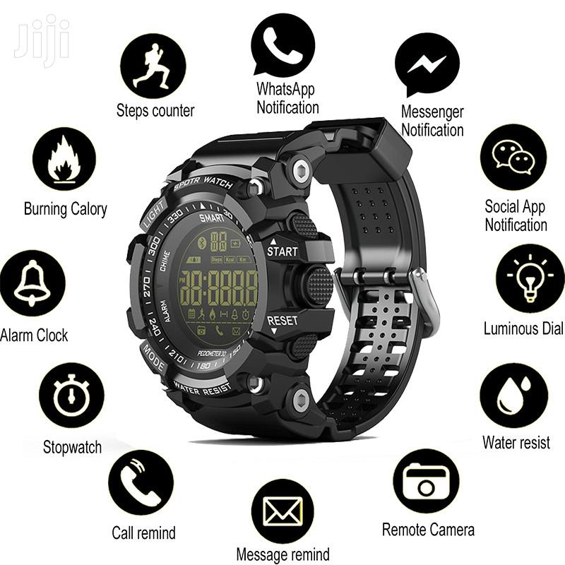 EX16 Smart Watch Notification Remote Control Pedometer Sport Watch | Smart Watches & Trackers for sale in Nairobi Central, Nairobi, Kenya