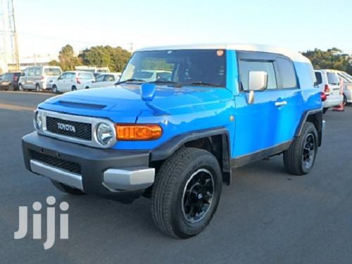New Toyota FJ Cruiser 2013 4X4 AT Blue