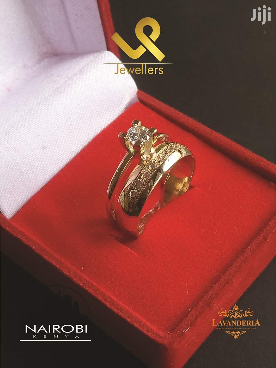 18k Gold Custom Made Bride N Groom Wedding Bands Ring.   Wedding Wear & Accessories for sale in Nairobi Central, Nairobi, Kenya