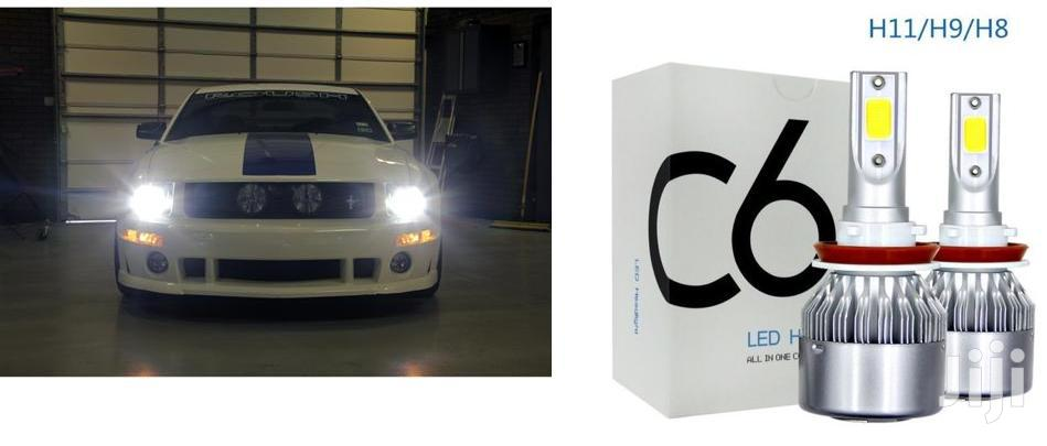 White/Bright LED Headlight Bulbs: For Toyota,Mazda,Nissan,Subaru,Honda