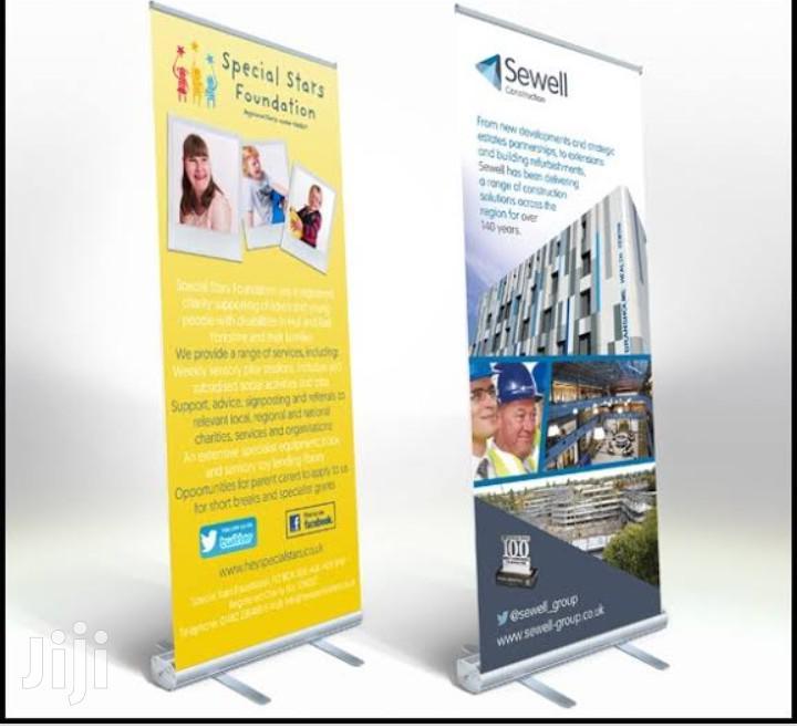 Archive: Promotion Roll Up Banner Design