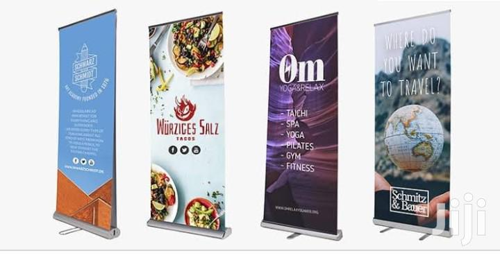 Archive: Promotional Roll Up Banner Design