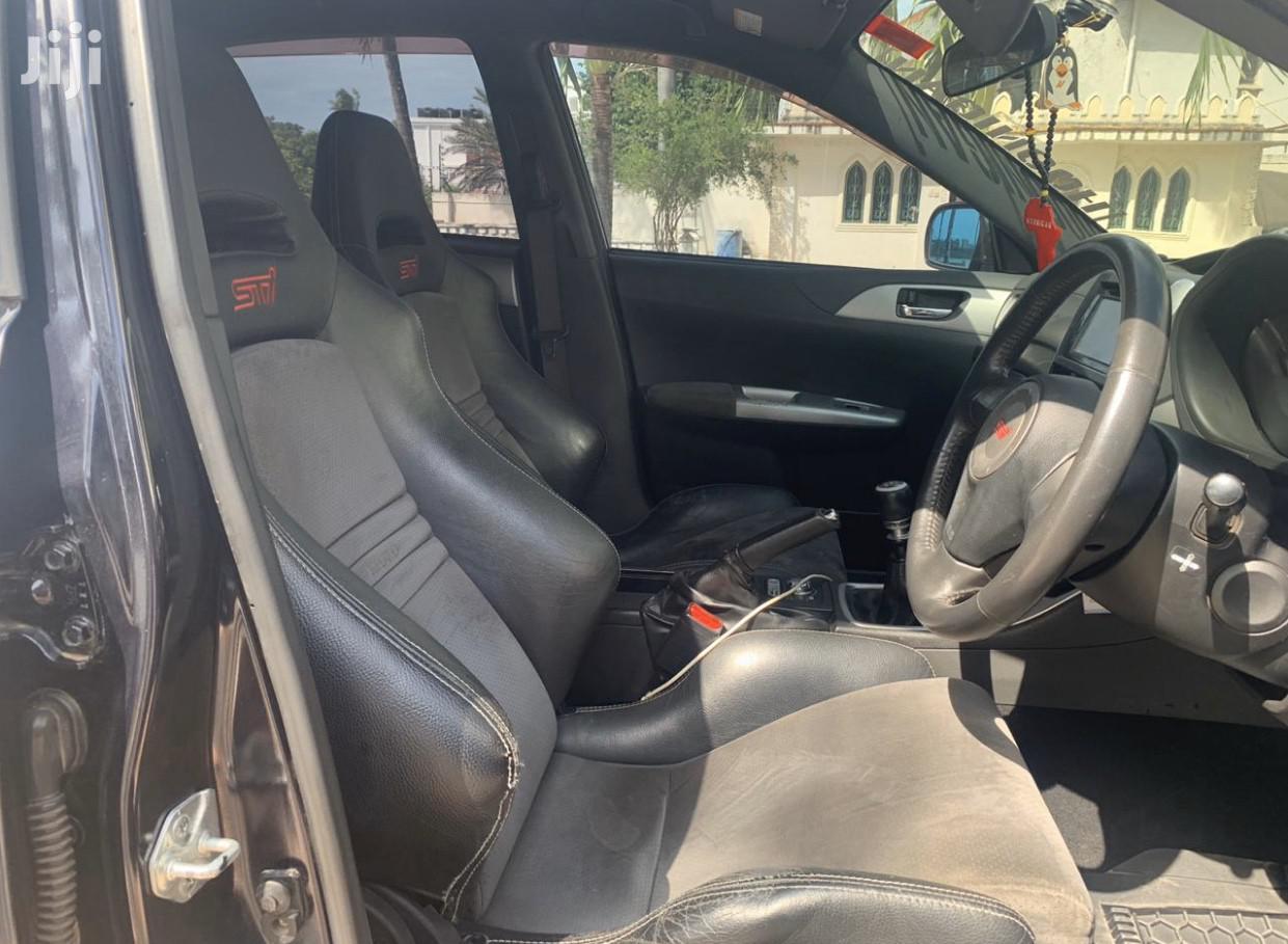 Archive: Subaru Impreza 2008 Black