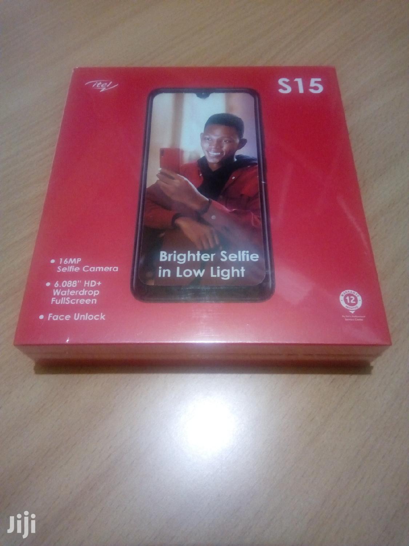 New Itel S15 16 GB Black