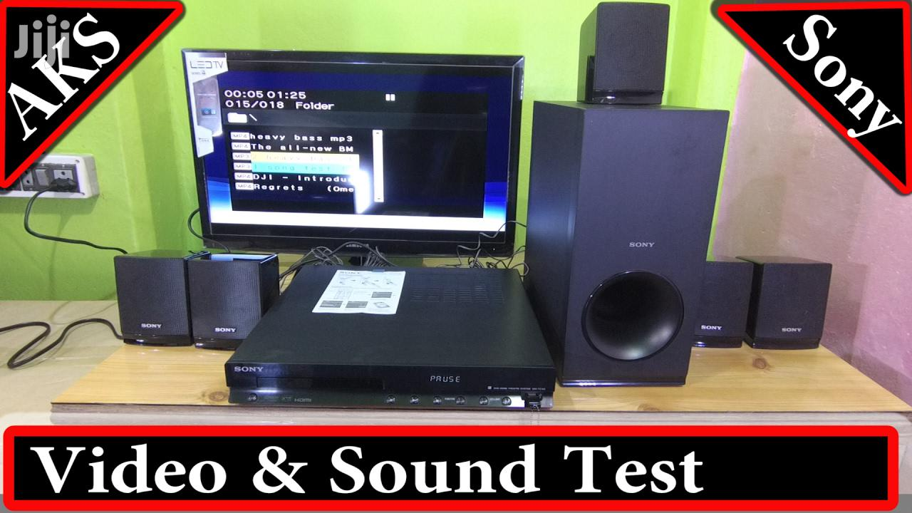 Archive: Sony DAV-TZ140 - 300W - 5.1ch - DVD Home Theater - Black