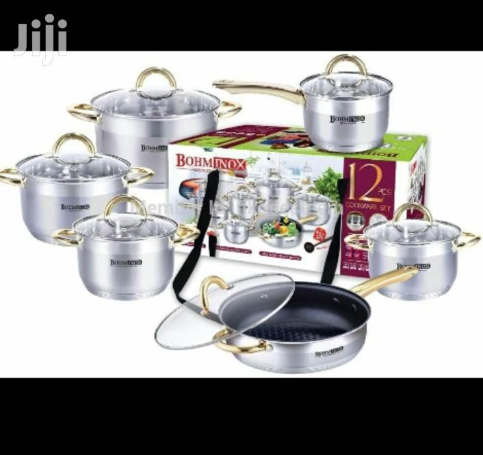 Bominox 12pc Cooking Set