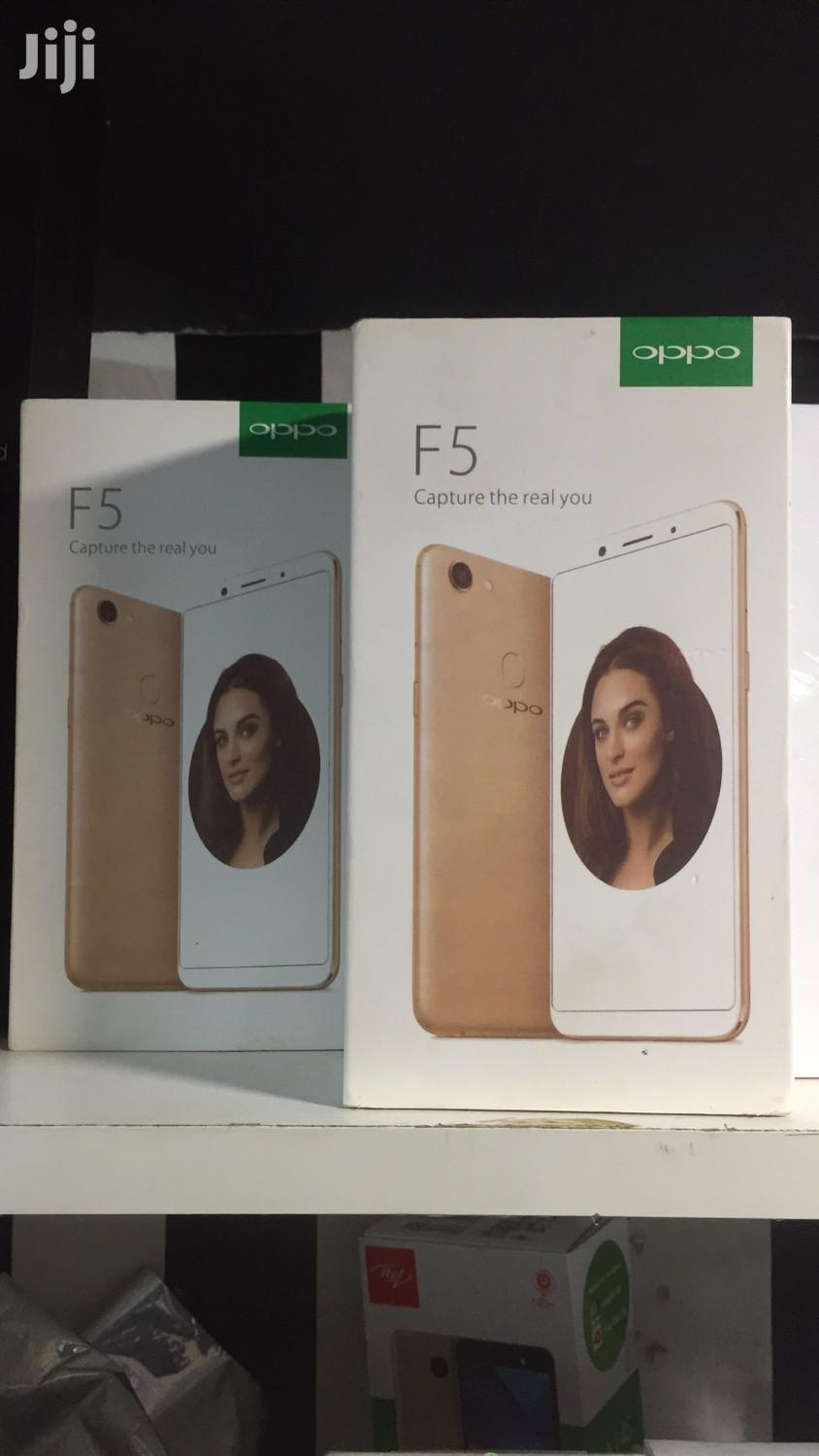 Archive: New Oppo F5 32 GB Gold