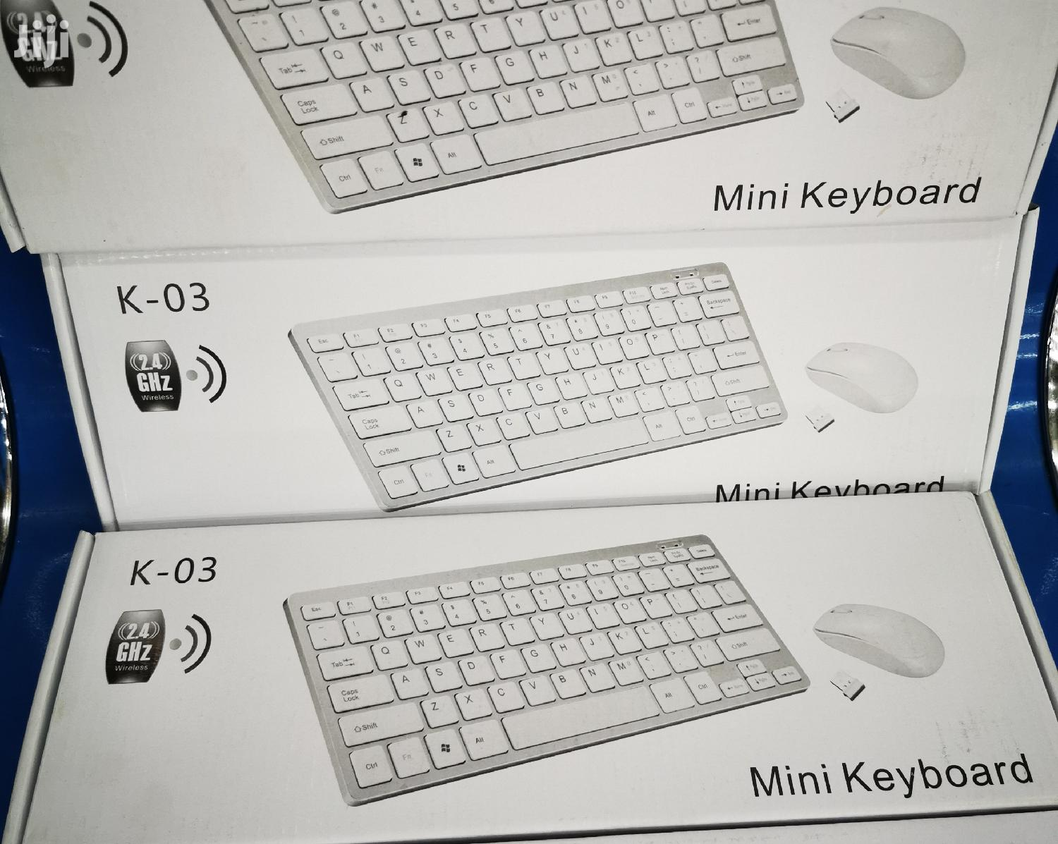 Archive: Mini Wireless Keyboard and Mouse