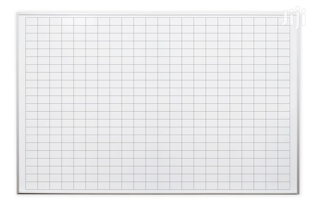 4' X 6' Magnetic Dry Erase Boards With Grids