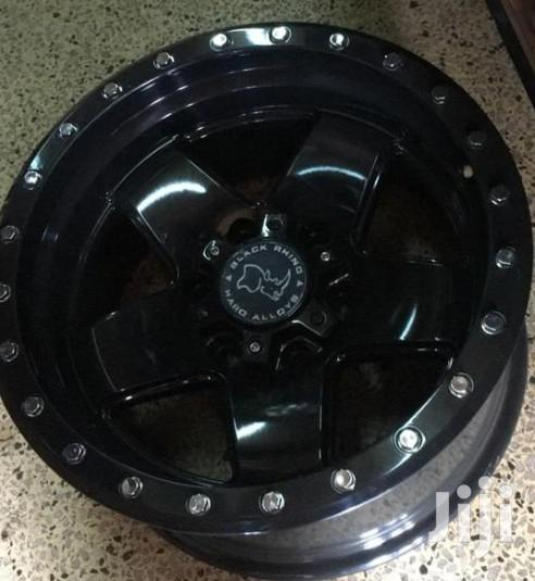 17 Inches Sport Rims Mud Black For Toyota Prado,Surf And Hilux(Set)