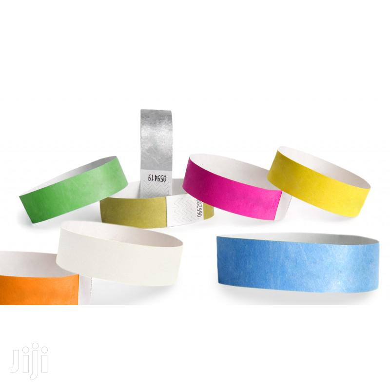 Archive: Event Wristbands \ Event Tags \ Paper Wristbands