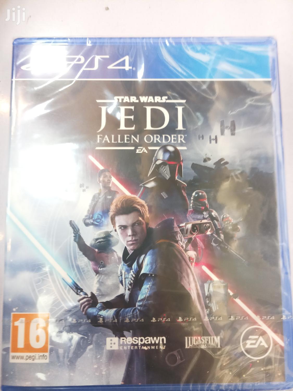 Star Wars Jedi Fallen Order Ps4 In Nairobi Central Video Games Scartek Ltd Jiji Co Ke For Sale In Nairobi Central Buy Video Games From Scartek Ltd On Jiji Co Ke