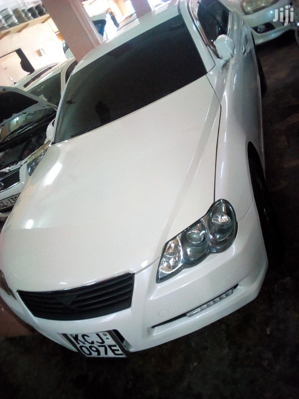 Toyota Mark X 2012 White   Cars for sale in Mvita, Mombasa, Kenya