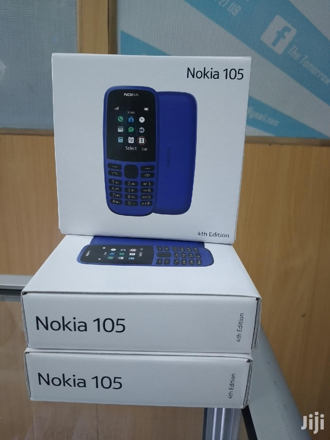 Archive: New Nokia 105 512 MB Black