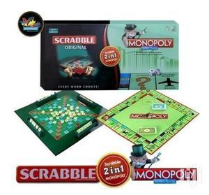 2-in-1 Monopoly & Scrabble Set   Books & Games for sale in Nairobi, Nairobi Central