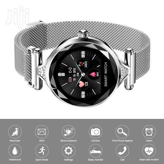 H1 Smartwatch Women Bracelet - Silver   Smart Watches & Trackers for sale in Nairobi Central, Nairobi, Kenya