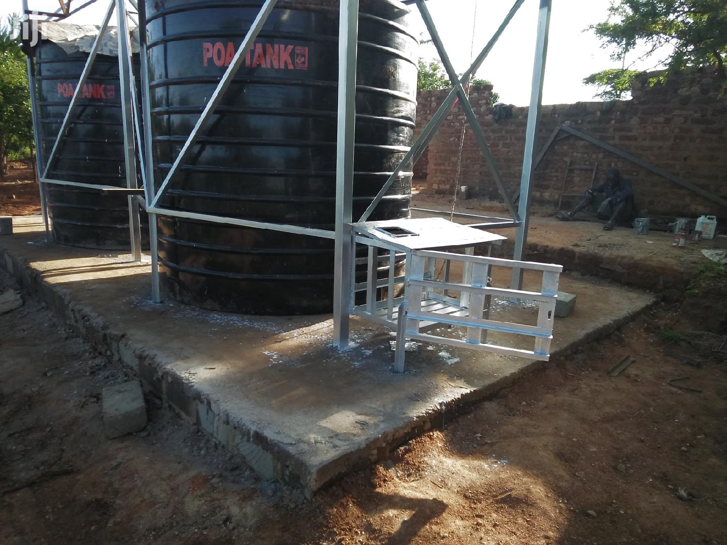 Tank Tower Tank Stand Steel Tower Platform Tank Stand Kenya Lifting | Other Repair & Construction Items for sale in Central Mwingi, Kitui, Kenya