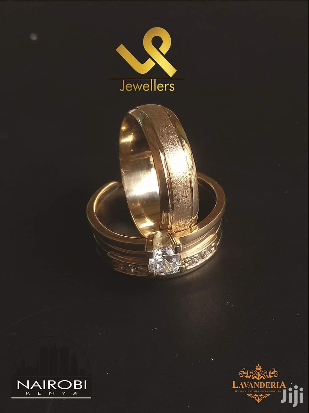 18k Yellow Gold Custom Made Bride N Groom Wedding Ring Band | Wedding Wear & Accessories for sale in Nairobi Central, Nairobi, Kenya