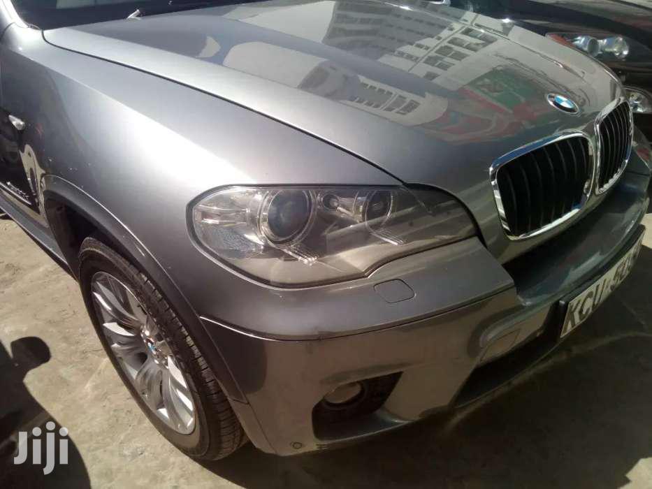 New BMW X5 2012 Gray