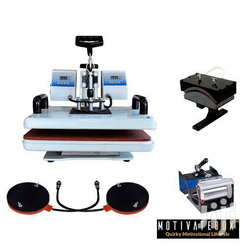 Combo 8 In 1 Heat Press Sublimation Machine