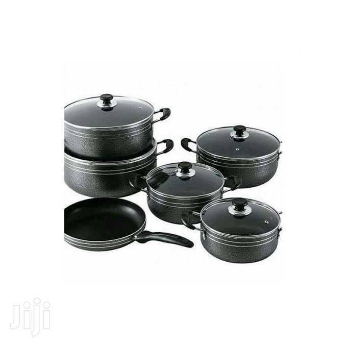 Seemann 11pcs Non-Stick Pots and Pan