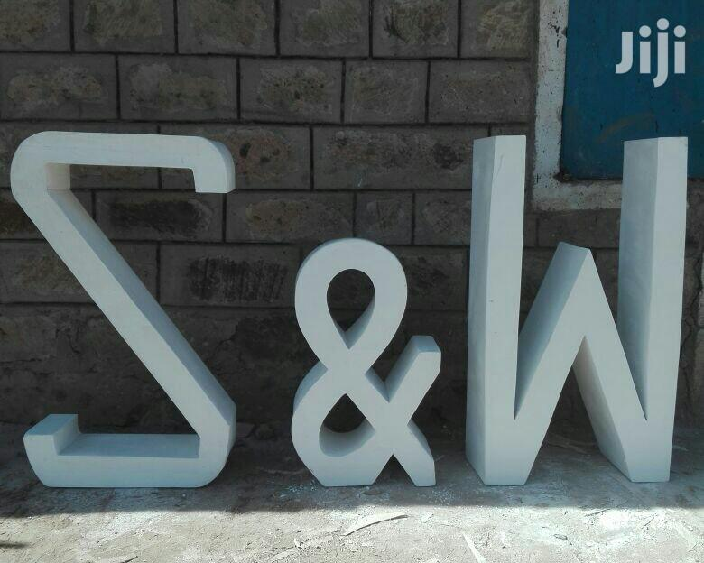 Archive: Fibreglass Letters,For Any Word
