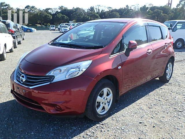 Archive: Nissan Note 2012 Red