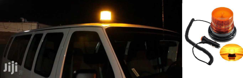 24V LED Magnetic Strobe Beacon For Trucks/Machinery: For Toyota,Hino
