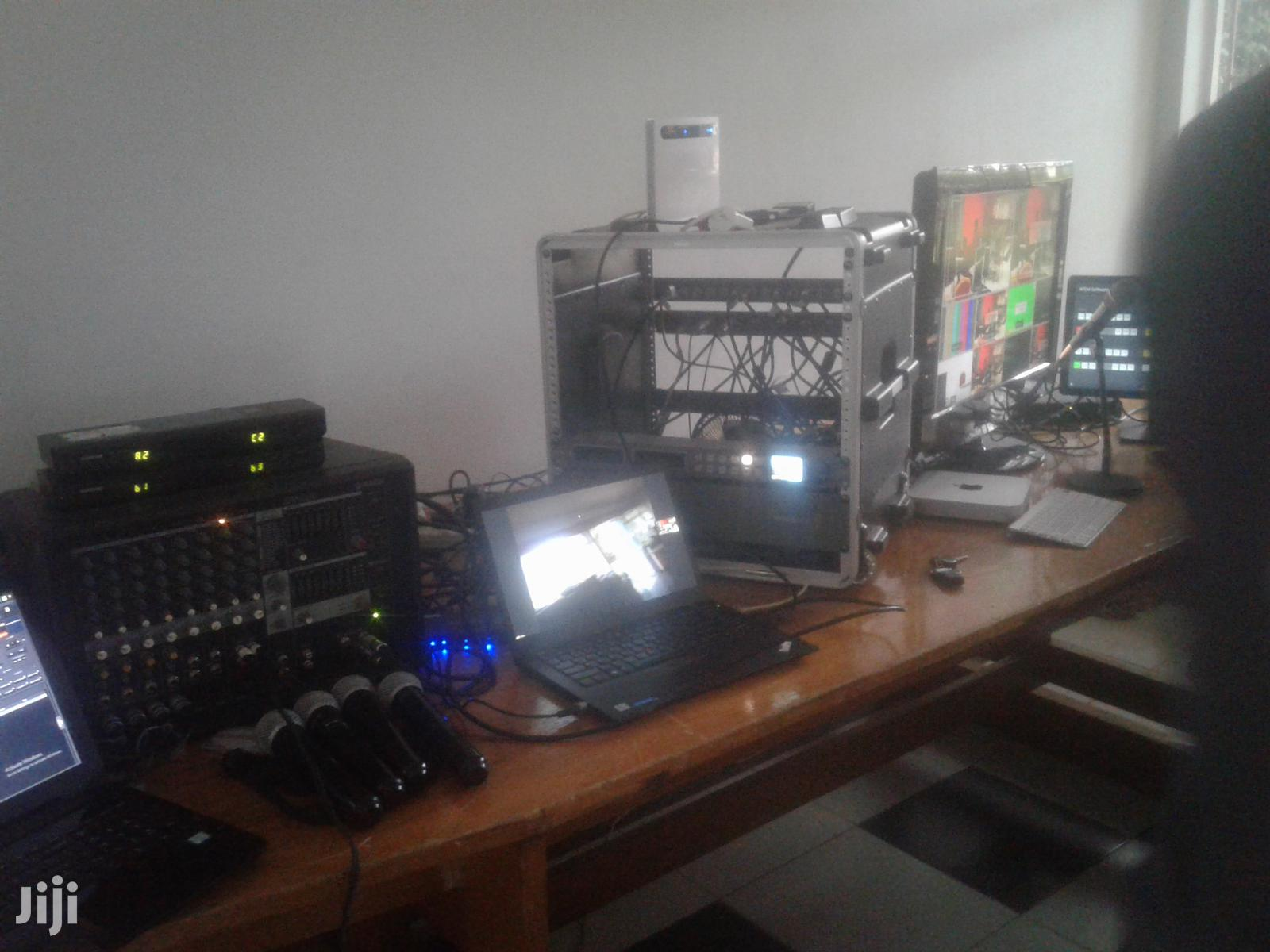55 Inches TV & Pa System For Hire. | DJ & Entertainment Services for sale in Nairobi Central, Nairobi, Kenya