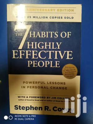 The 7 Habits Of Highly Effective People- Stephencovey(Secondhand)   Books & Games for sale in Nairobi, Kilimani