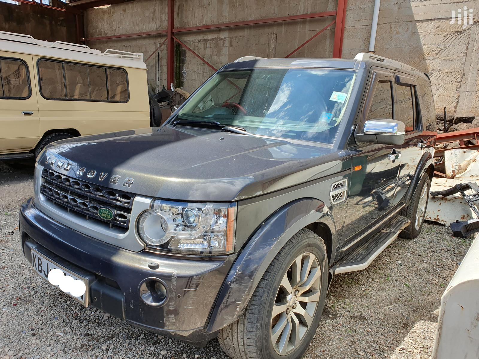 Archive: Land Rover LR3 2005 HSE Gray