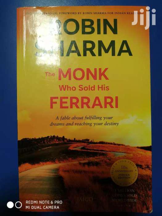 The Monk Who Sold His Ferrari-robin Sharma(Second Hand)