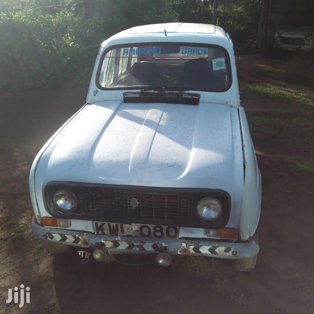 Archive: Renault 4 1983 1.0 White